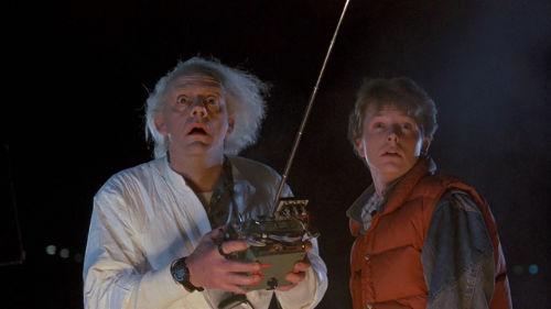 Doc et Marty sont éblouis par votre gestion du temps.