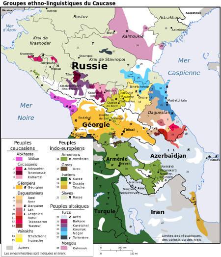 Langues caucasiennes