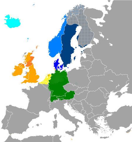 langues germaniques europe