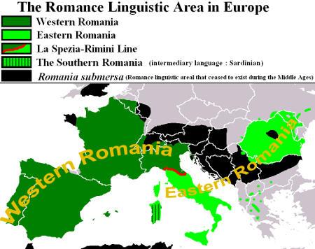 langues romanes europe