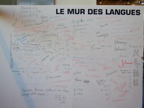 le mur des langues