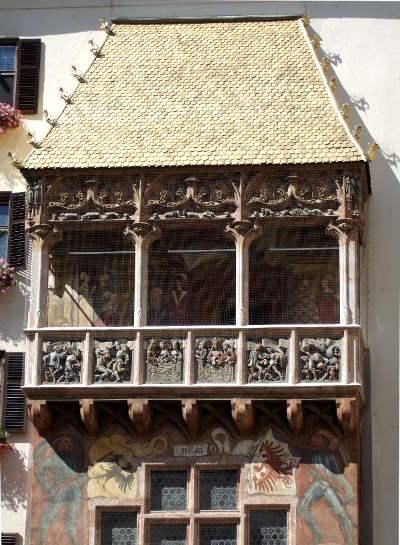 Innsbruck - Petit toit d'or