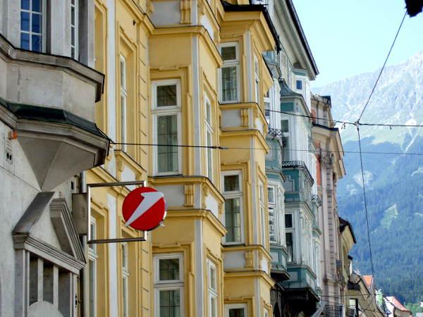 Façades d'Innsbruck
