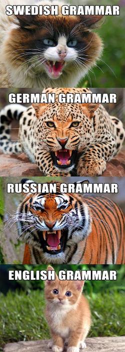 La grammaire anglaise, c'est facile !