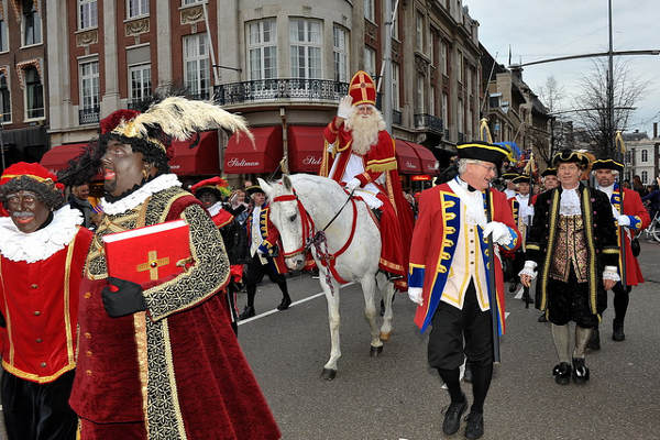 Sinterklaas et Zwarte Piet