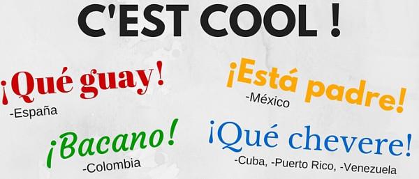 """""""C'est cool"""" en espagnol"""