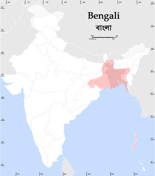 Locuteurs du bengali