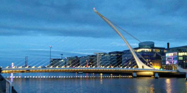 Pont Samuel Beckett à Dublin