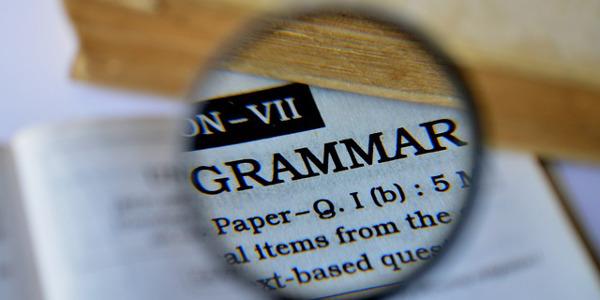 Grammaire d'une langue étrangère