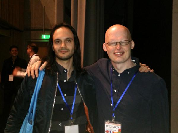 Pierre Blanchon et Richard Simcott