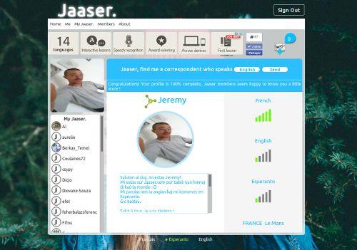 Jaaser - Profil
