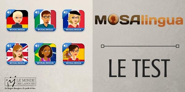 MosaLingua, application pour apprendre du vocabulaire