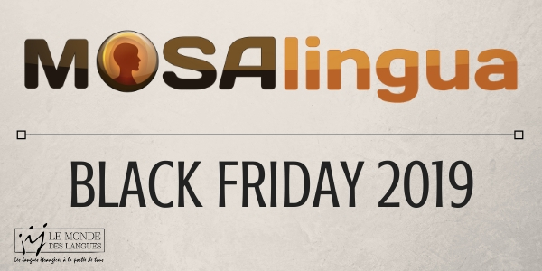 MosaLingua - Black Friday 2019